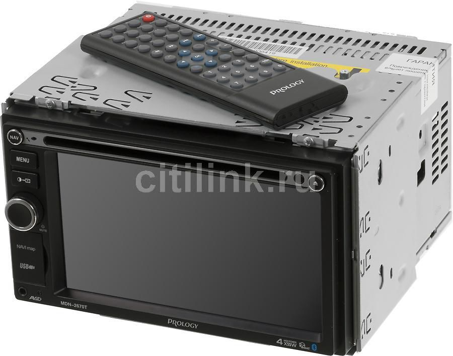 Автомагнитола PROLOGY MDN-2670T,  USB,  SD/MMC