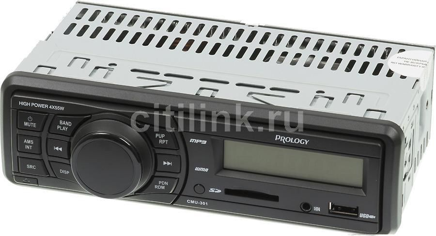 Автомагнитола PROLOGY CMU-301,  USB,  SD/MMC