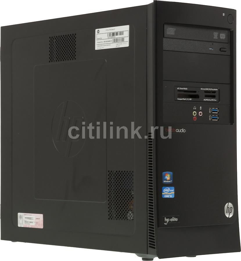 Компьютер  HP Elite 7500 MT,  Intel  Core i5  2500,  DDR3 4Гб, 1000Гб,  nVIDIA GeForce GT630 - 2048 Мб,  DVD-RW,  CR,  Windows 7 Professional,  черный [b5g30ea]