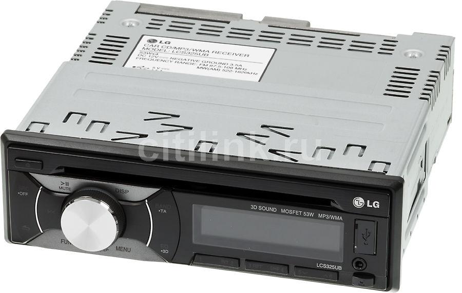 Автомагнитола LG LCS325UB,  USB