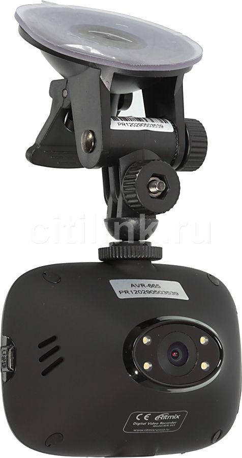 Видеорегистратор RITMIX AVR-665 черный