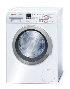 Стиральная машина BOSCH WLO20160OE, фронтальная загрузка,  белый