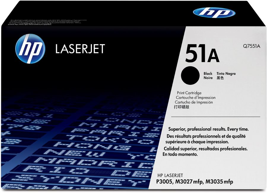 Картридж HP 51A черный [q7551a]