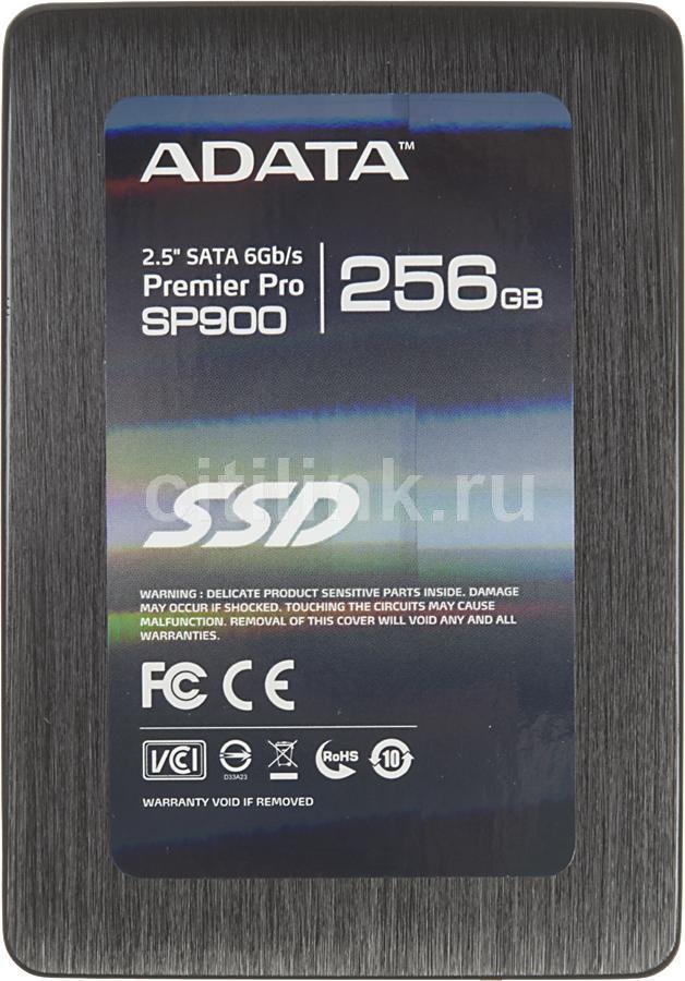Накопитель SSD A-DATA SP900 ASP900S3-256GM-C 256Гб, 2.5