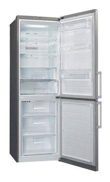 Холодильник LG GA-B439ELQA,  двухкамерный,  серебристый