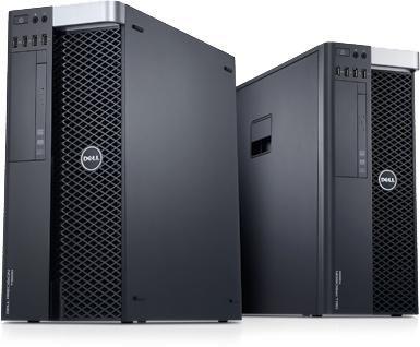 Рабочая станция  DELL Precision T3600,  Intel  Xeon  E5-1603,  DDR3 2Гб, 500Гб +  500Гб,  nVIDIA Quadro NVS 300 - 512 Мб,  DVD-RW,  Windows 7 Professional,  черный и серебристый [210-39350]