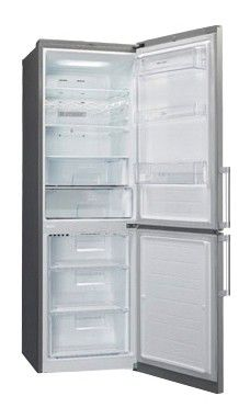 Холодильник LG GA-B439EMQA,  двухкамерный,  серый