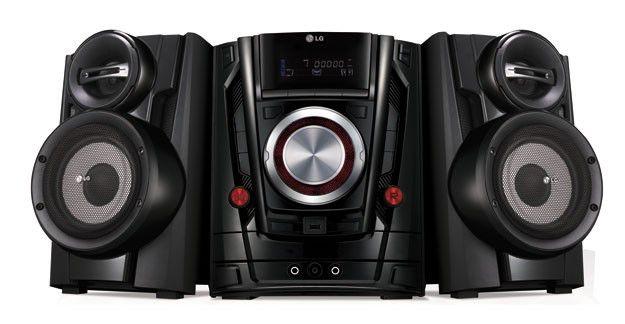 Музыкальный центр LG DM5420K,  черный