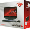 Моноблок ACER Packard Bell oneTwo S3220, AMD Fusion E350, 2Гб, 500Гб, AMD Radeon HD 6310, DVD-RW, Windows 7 Home Basic, черный и серебристый [dq.u6her.002] вид 16