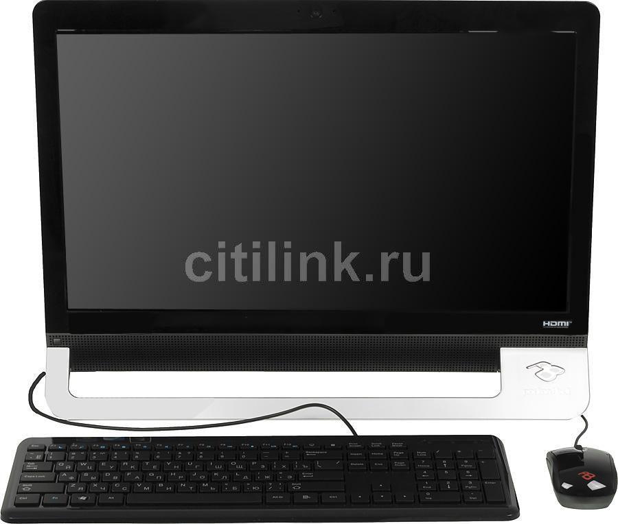 Моноблок ACER Packard Bell oneTwo M3870, Intel Pentium G630, 4Гб, 500Гб, nVIDIA GeForce GT620 - 2048 Мб, DVD-RW, Windows 7 Home Premium, черный и серебристый [dq.u6qer.001]