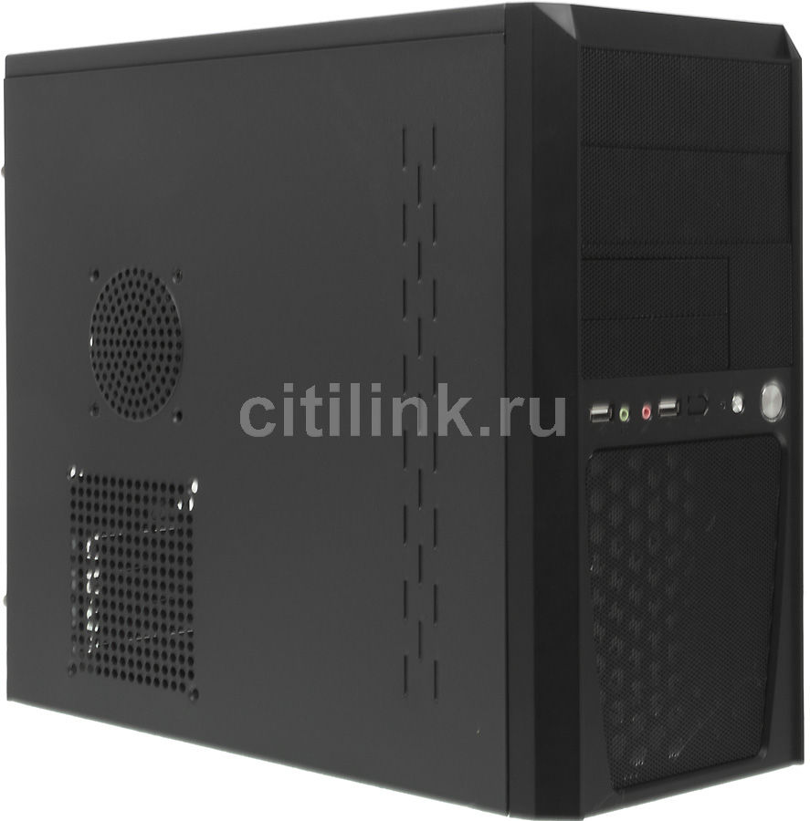 Корпус mATX FORMULA FM-514D, Mini-Tower, 400Вт,  черный