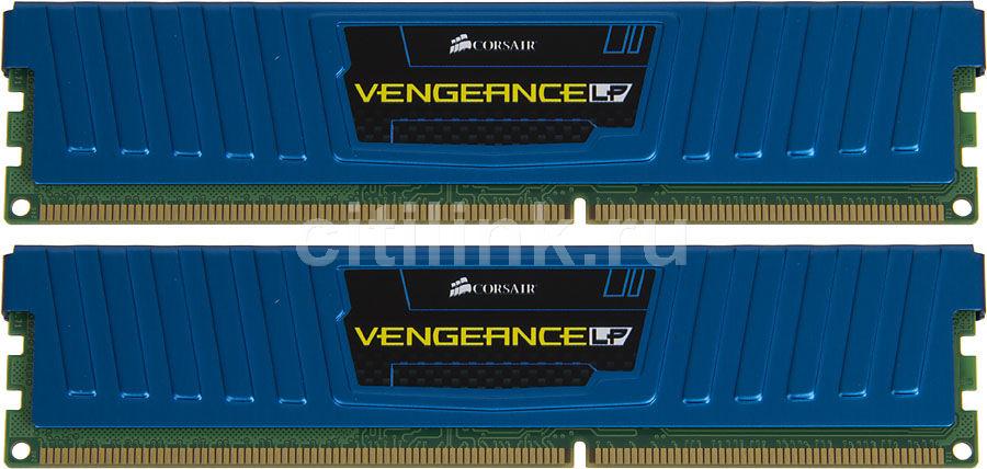 Модуль памяти Corsair Vengeance LPX DDR4 DIMM 2400MHz PC4-19200 CL16 - 32Gb KIT (4x8Gb) CMK32GX4M4A2400C16