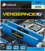 Модуль памяти CORSAIR Vengeance CML8GX3M2A2133C11B DDR3 -  2x 4Гб 2133, DIMM,  Ret,  низкопрофильная вид 3