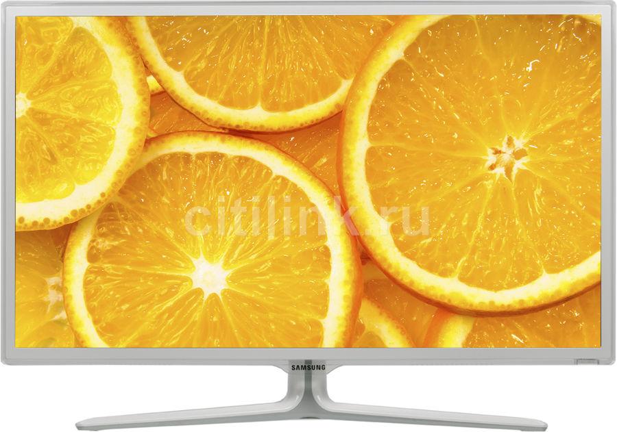 "LED телевизор SAMSUNG UE32ES6727U  ""R"", 32"", 3D,  FULL HD (1080p),  белый"