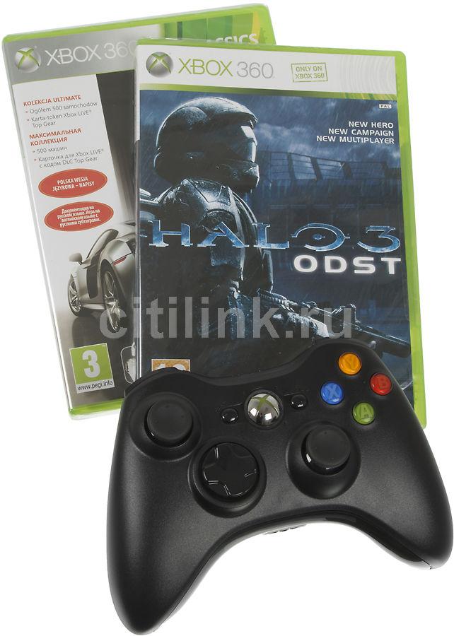 Беспроводной контроллер MICROSOFT Xbox 360 [hw_wrls frz3+h_odst]