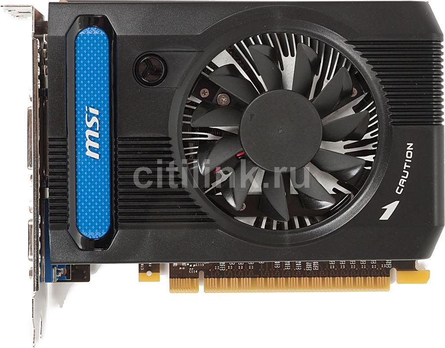 Видеокарта MSI GeForce GT 640,  1Гб, DDR3, Ret [n640gt-md1gd3]