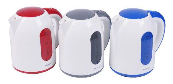 Чайник электрический ROLSEN RK2719PB, 2200Вт, синий и белый