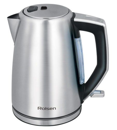 Чайник электрический ROLSEN RK-2715M, 2200Вт, серебристый