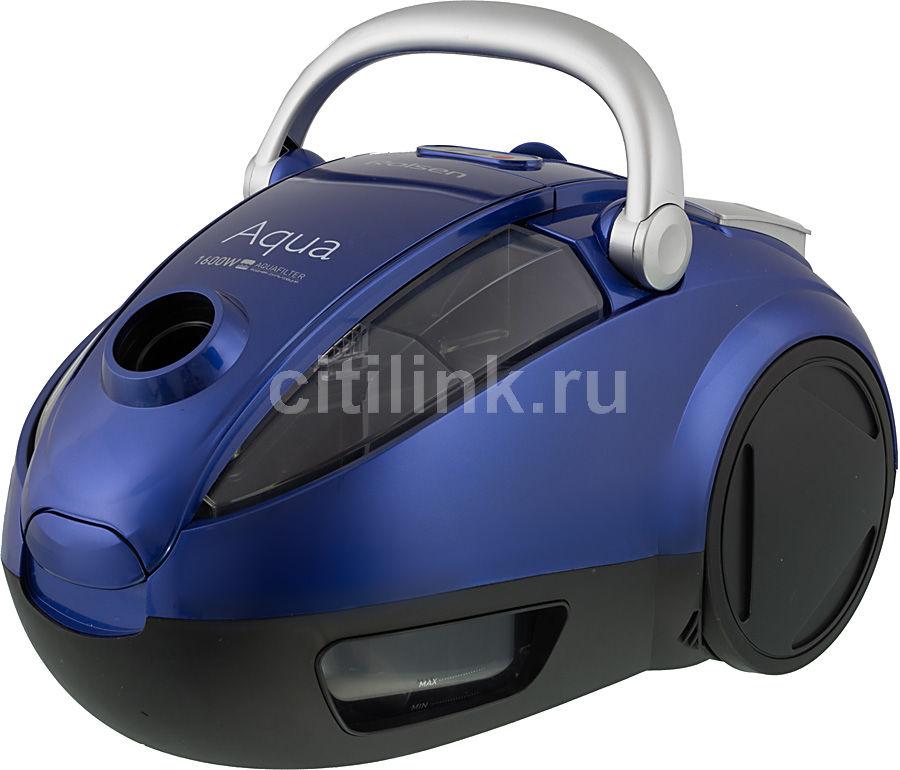 Пылесос ROLSEN T-2560TSW, 1600Вт, синий