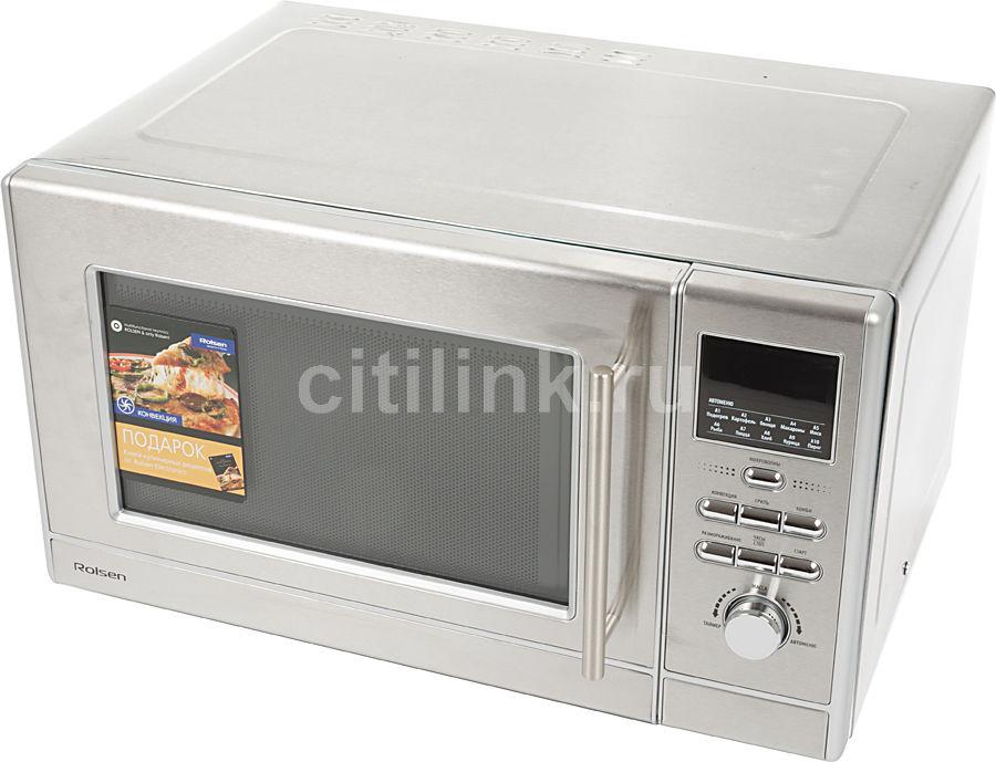 Микроволновая печь ROLSEN MG2380S con, серебристый