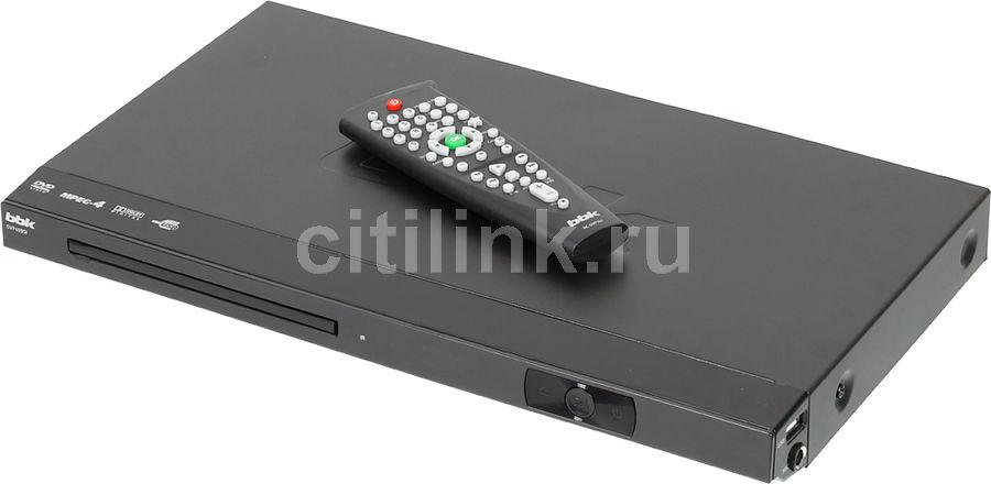 DVD-плеер BBK DVP459SI,  черный [(dvd) player dvp459si б/д чер]