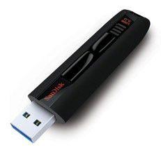 Флешка USB SANDISK Extreme 32Гб, USB3.0, черный [sdcz80-032g-x46]