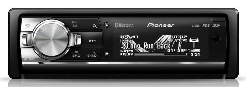 Автомагнитола PIONEER DEH-8400BT,  USB,  SDHC