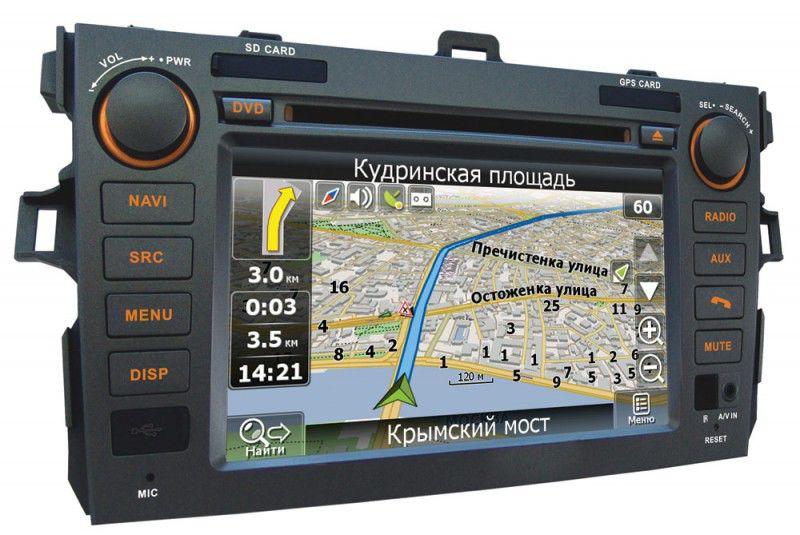 Автомагнитола VELAS V-TCG,  Toyota Corolla (2006-2012),  USB,  SD