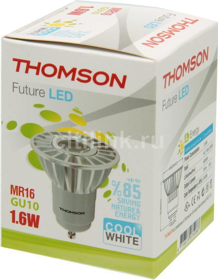 Лампа THOMSON RTMR-1616GU10-CW, 1.6Вт, 75lm, 40000ч,  5500К, GU10,  1 шт.
