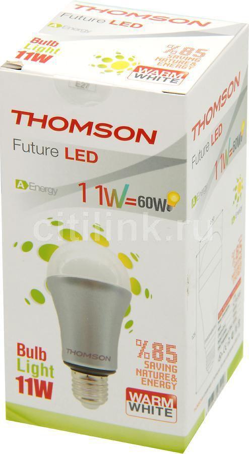 Лампа THOMSON RTBL-RE60-WW, 11Вт, 700lm, 40000ч,  3000К, E27,  1 шт.
