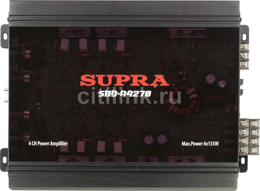 Усилитель автомобильный SUPRA Blue Dragon SBD-A4270