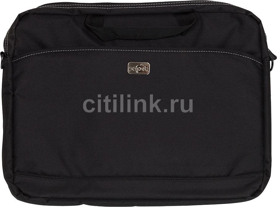 """Сумка для ноутбука 17"""" PC PET 600D, черный [pcp-a1317bk]"""