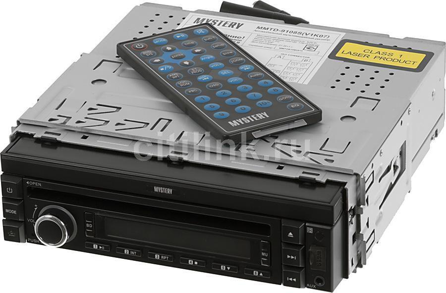 Автомагнитола MYSTERY MMTD-9108S,  USB,  SD/MMC
