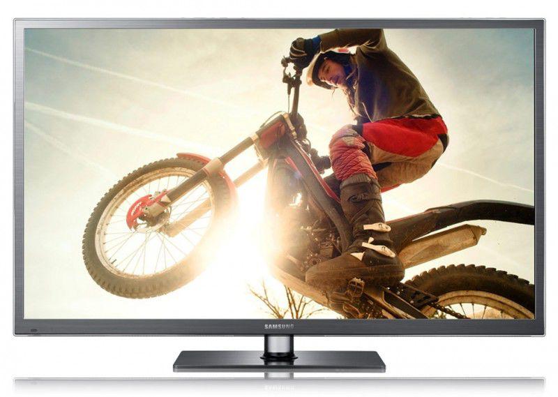 "Плазменный телевизор SAMSUNG PS60E6507EU  ""R"", 60"", 3D,  FULL HD (1080p),  серый"