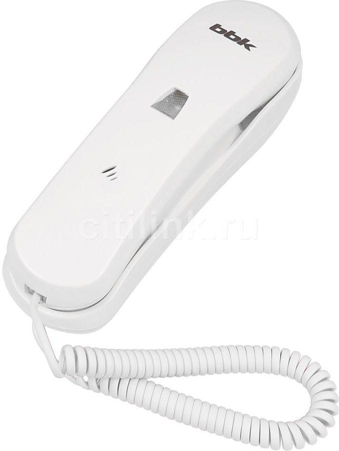 Проводной телефон BBK BKT-100 RU, белый
