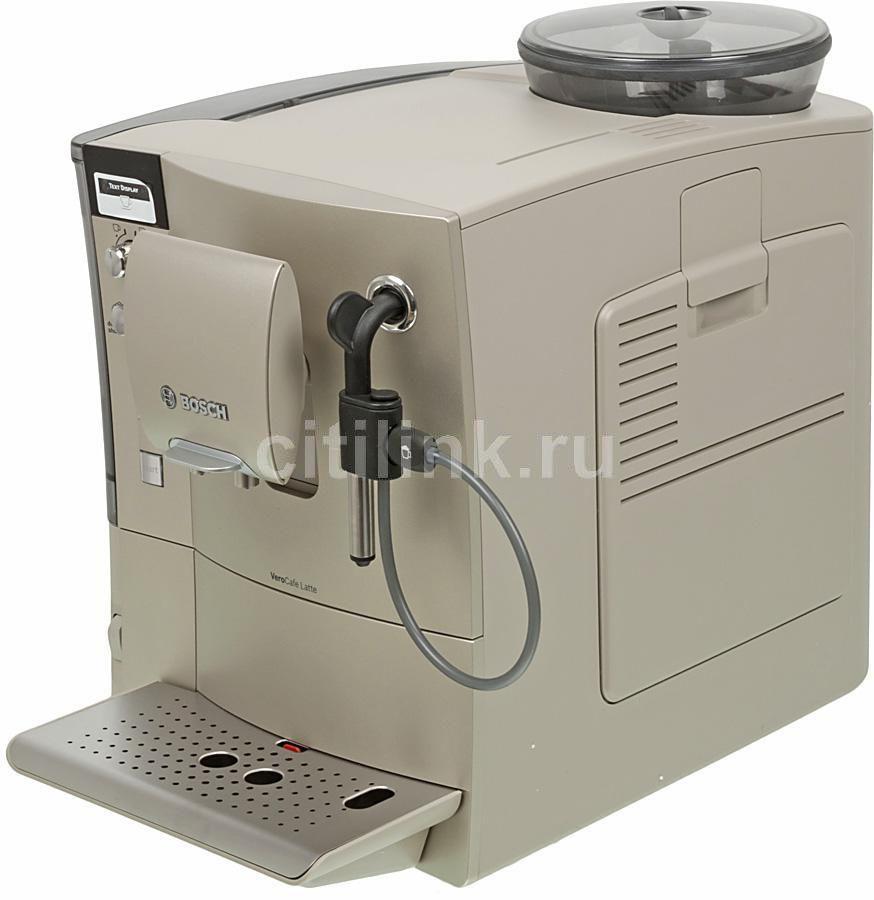 Кофемашина BOSCH VeroCafe Latte TES50324RW,  золотистый