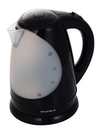 Чайник электрический SUPRA KES-1709, 2200Вт, черный