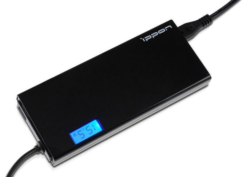 Адаптер питания IPPON SD90U,  90Вт,  черный