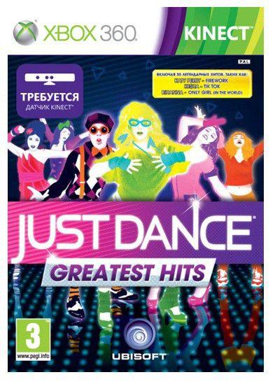 Игра SOFT CLUB Just Dance: Greatest Hits для  Xbox360 Eng