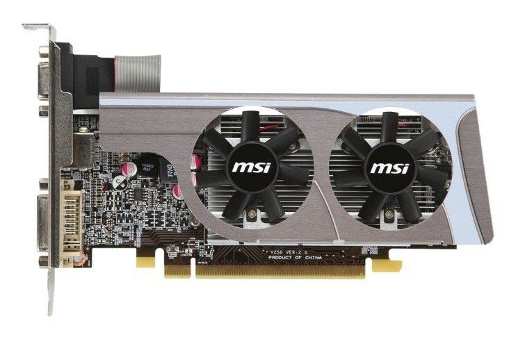 Видеокарта MSI Radeon HD 6570,  1Гб, DDR3, oem [r6570-md1gd3 bulk]