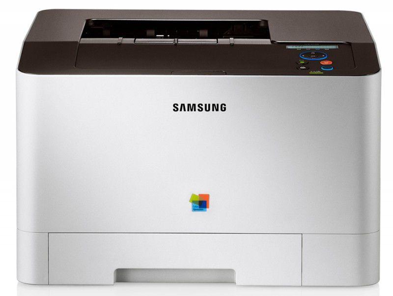 Принтер SAMSUNG CLP-415N лазерный, цвет:  белый [clp-415n/xev]