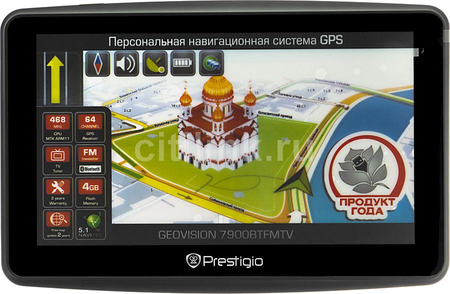 GPS навигатор PRESTIGIO GeoVision 7900BTFMTV,  7
