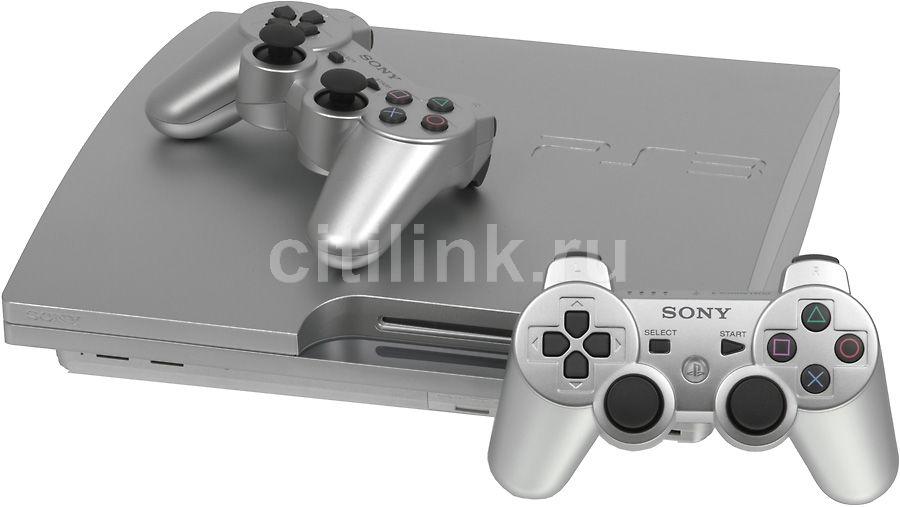 Игровая консоль SONY PlayStation 3 PS719272311, серебристый