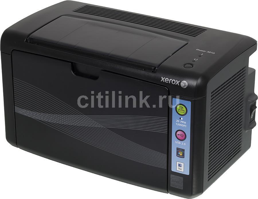 Принтер XEROX Phaser 3010 светодиодный, цвет:  черный [100s66154/100s66475]