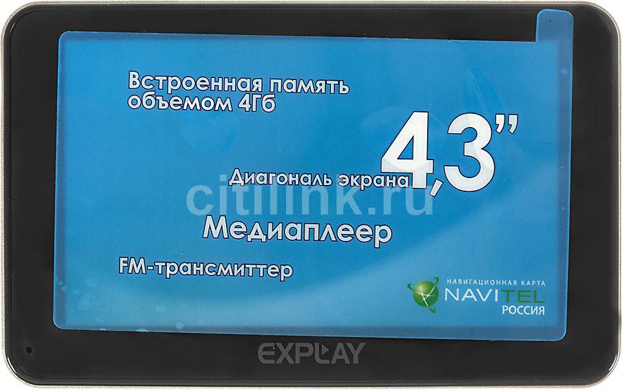 GPS навигатор EXPLAY GT4,  4.3