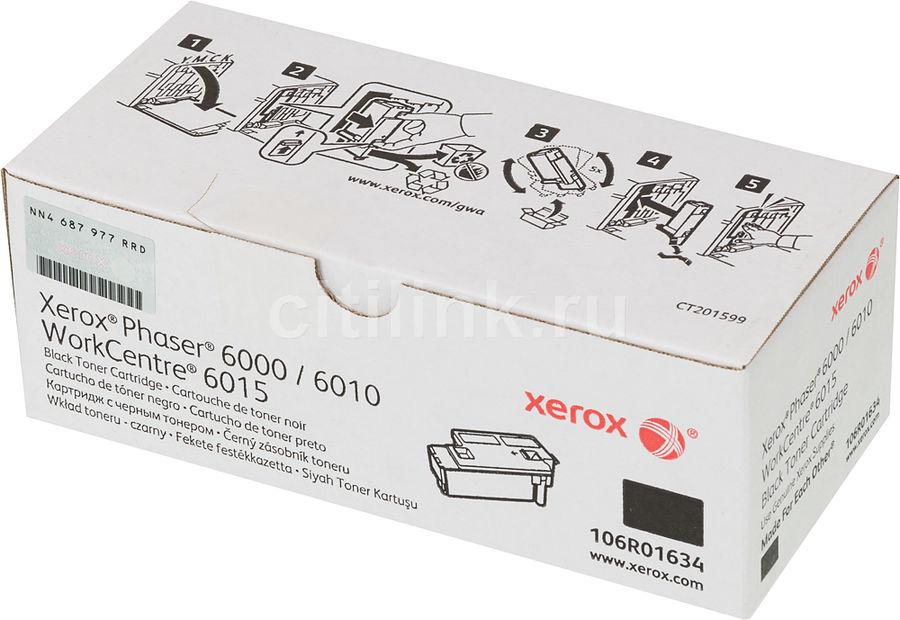 Картридж XEROX 106R01634, черный