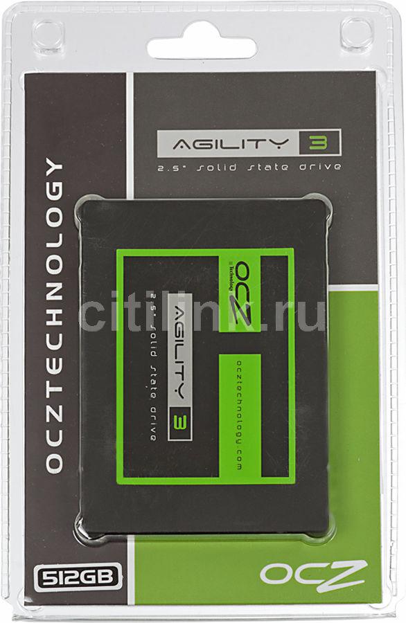 Накопитель SSD OCZ Agility 3 AGT3-25SAT3-512G 512Гб, 2.5