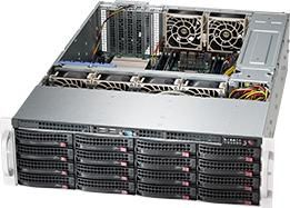 Корпус SuperMicro CSE-836BE26-R1K28B 3UКорпуса для серверов<br><br>
