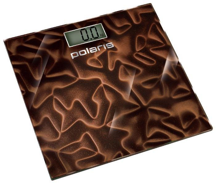 Весы POLARIS PWS1528DG, до 150кг, цвет: коричневый