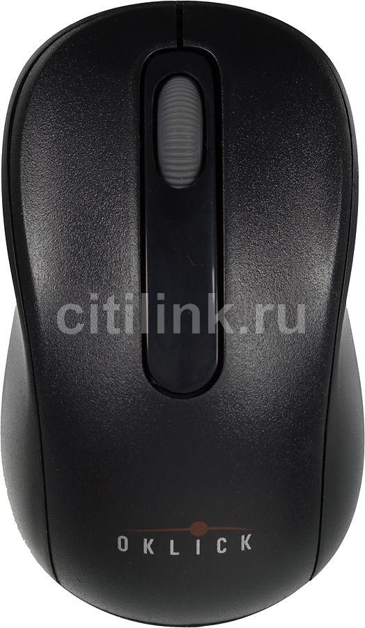 Мышь OKLICK 515SW оптическая беспроводная USB, черный [m102gx+g07uf]